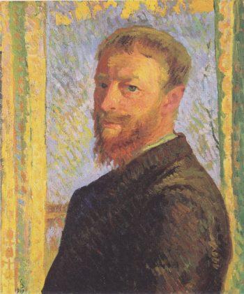 Self portrait | Giovanni Giacometti | oil painting