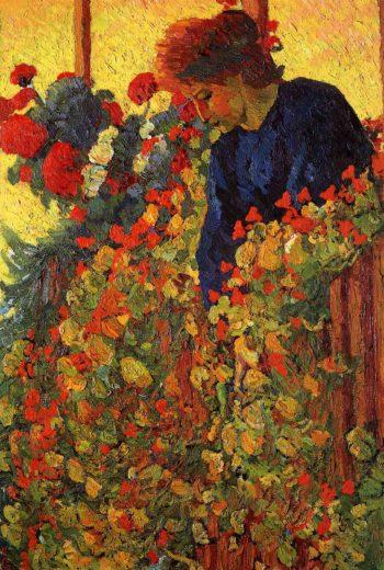 Garden | Giovanni Giacometti | oil painting