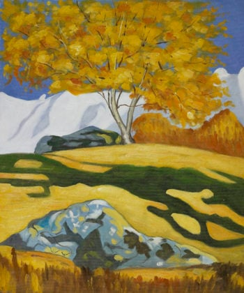 Autumn | Giovanni Giacometti | oil painting