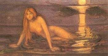 The Lady from the Sea | Edvard Munch | oil painting