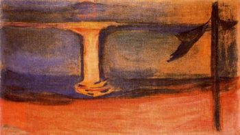Asgardstrand | Edvard Munch | oil painting