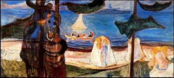 Summer Day | Edvard Munch | oil painting