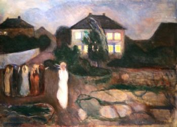The Storm | Edvard Munch | oil painting