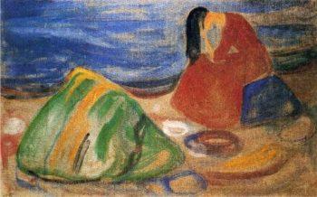 Melancholy   Edvard Munch   oil painting