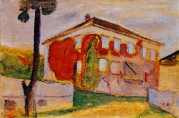 Red Creeper | Edvard Munch | oil painting