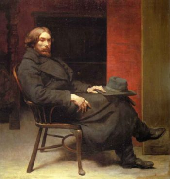 Augustus John | Sir William Orpen | oil painting