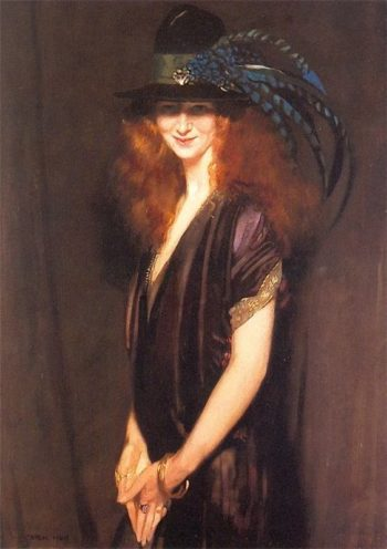 Bridgit a picture of Miss Elvery | Sir William Orpen | oil painting