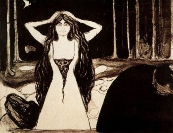 Ashes II | Edvard Munch | oil painting
