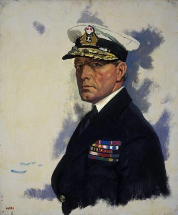 David Beatty 1st Earl Beatty | Sir William Orpen | oil painting