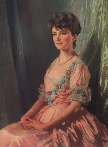 Francine J M Clark | Sir William Orpen | oil painting