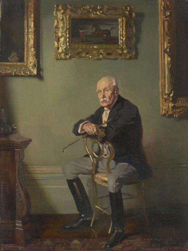 Gentleman in riding costume | Sir William Orpen | oil painting