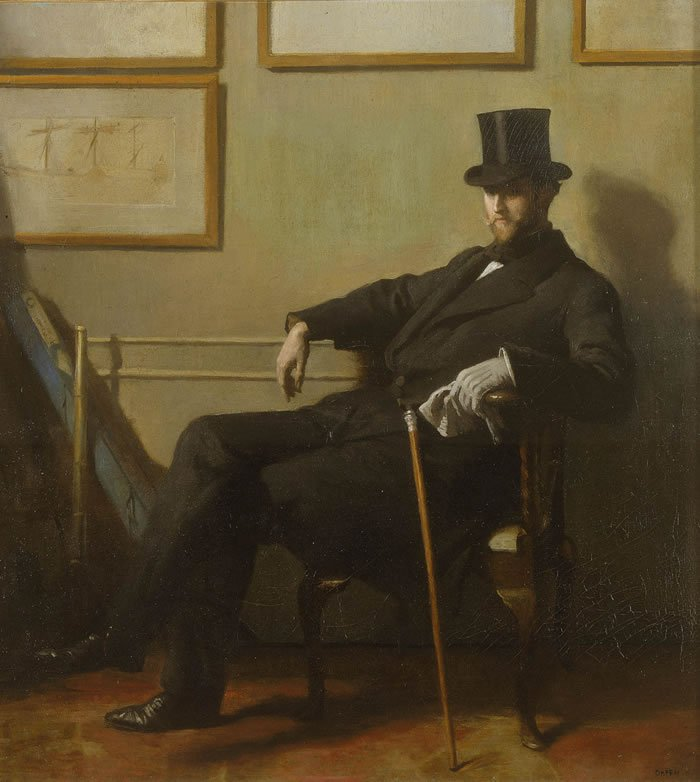 Herbert Barnard John Everett | Sir William Orpen | oil painting