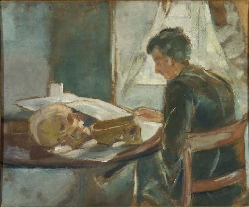 Andreas Munch | Edvard Munch | oil painting