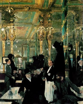 The Cafe Royal London | Sir William Orpen | oil painting