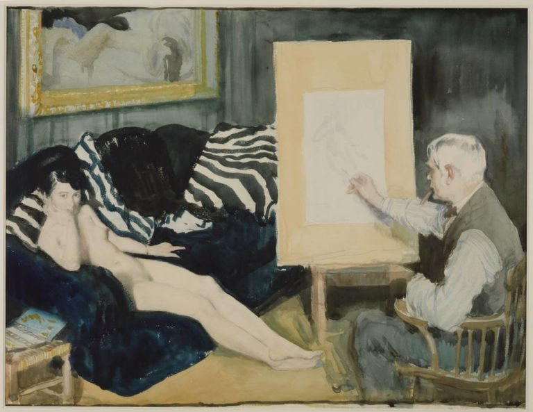 The Model | Sir William Orpen | oil painting