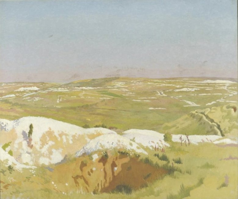 The Somme A Clear Day | Sir William Orpen | oil painting