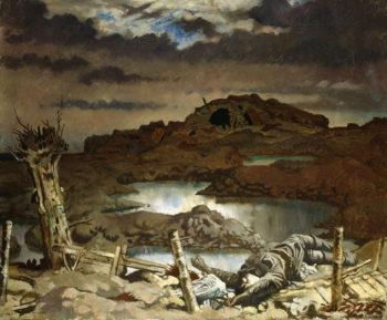 Zonnebeke | Sir William Orpen | oil painting