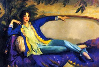 Gertrude Vanderbilt Whitney | Robert Henri | oil painting