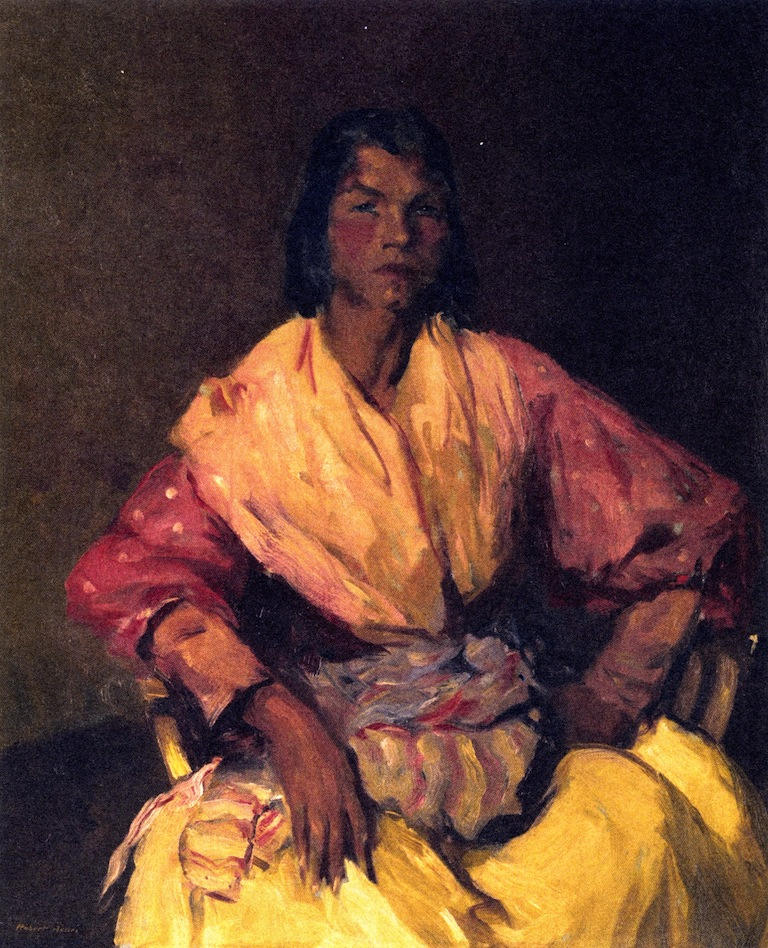 The Spanish Gypsy | Robert Henri | oil painting