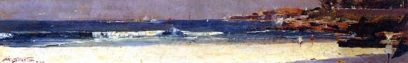 At Coogee | Sir Arthur Streeton | oil painting