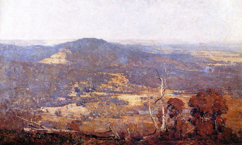 Australia Felix | Sir Arthur Streeton | oil painting