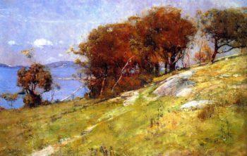 Cremorne Pastoral | Sir Arthur Streeton | oil painting