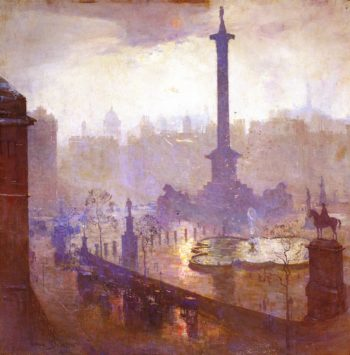 The Centre of the Empire | Sir Arthur Streeton | oil painting