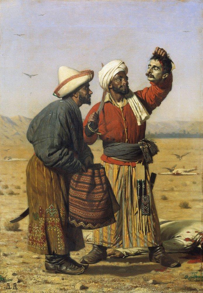 After good luck 1868 | Vasily Vereshchagin | oil painting
