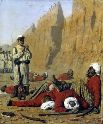After setbacks 1868 | Vasily Vereshchagin | oil painting