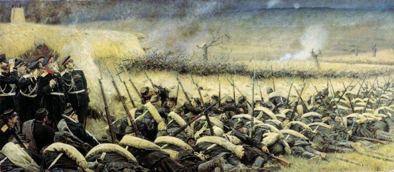 before attacking Plevna 1881 | Vasily Vereshchagin | oil painting