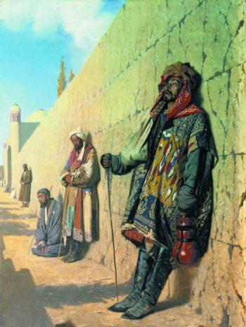 Beggars in Samarkand 1870 | Vasily Vereshchagin | oil painting