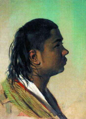 Boy Uzbek 1867 1868 | Vasily Vereshchagin | oil painting