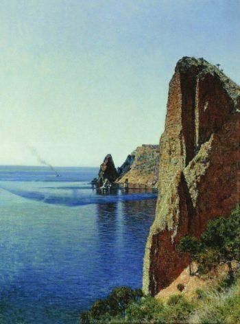 Cape Fiolent near Sevastopol 1897 | Vasily Vereshchagin | oil painting