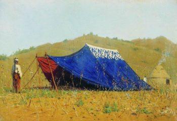 Chinese tent 1869 1870 | Vasily Vereshchagin | oil painting