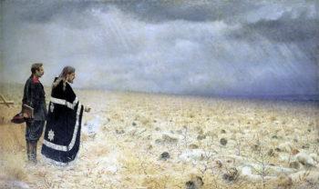Defeated Dirge 1878 1879 | Vasily Vereshchagin | oil painting