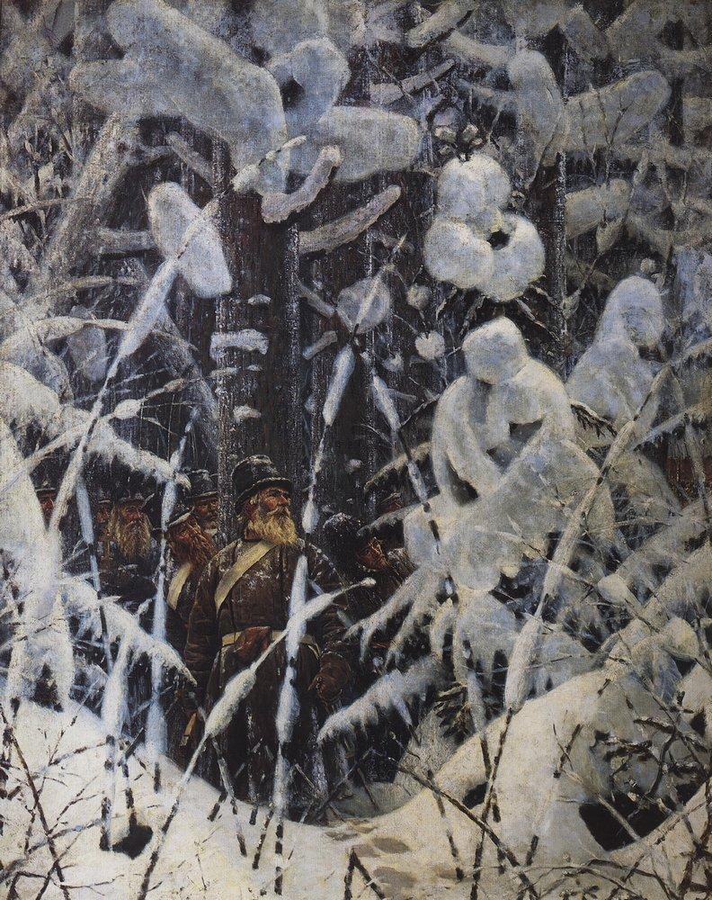 Do not touch Let me go 1887 1895   Vasily Vereshchagin   oil painting
