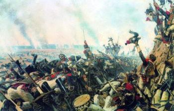 End of Borodino battle 1899 1900 | Vasily Vereshchagin | oil painting