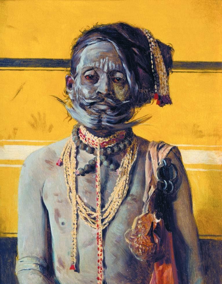 Fakir 1874 1876 | Vasily Vereshchagin | oil painting