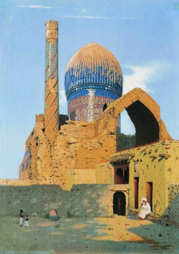 Gur Emir Samarkand 1869 1870 | Vasily Vereshchagin | oil painting