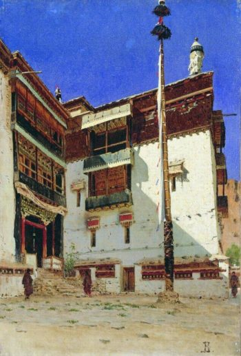 Indian motif 1875 | Vasily Vereshchagin | oil painting