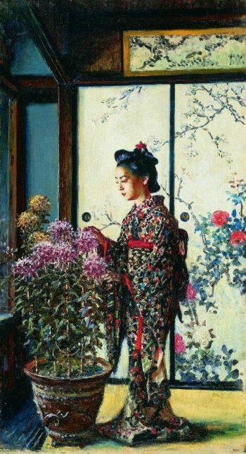 Japanese 1903 | Vasily Vereshchagin | oil painting