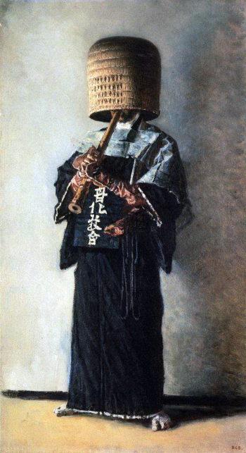 Japanese beggar Around 1904 | Vasily Vereshchagin | oil painting