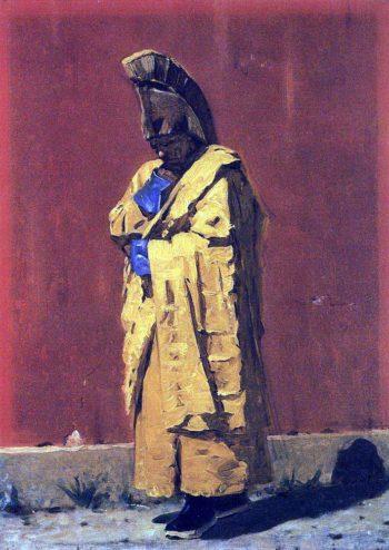 Kalmyk Lama 1873 | Vasily Vereshchagin | oil painting