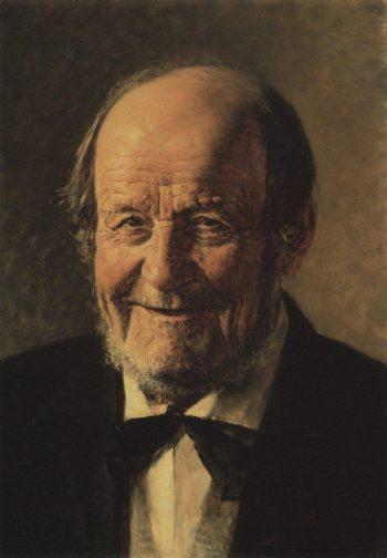 retired butler 1888 | Vasily Vereshchagin | oil painting