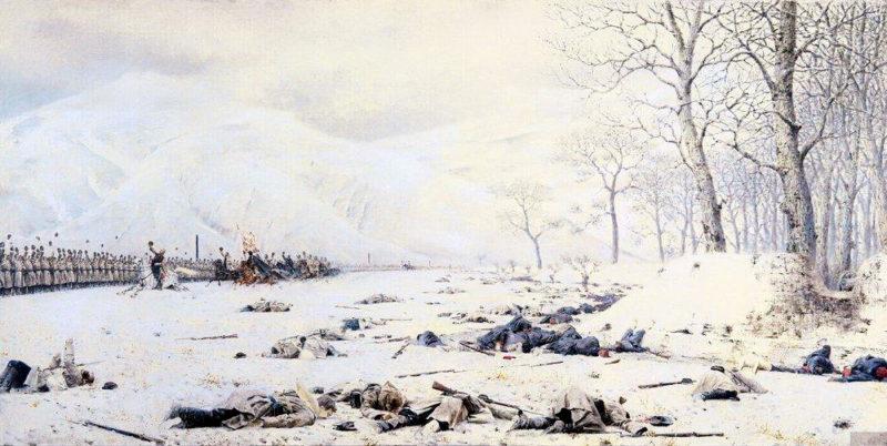 Shipka Sheinovo Skobelev at Shipka 1878 1879 | Vasily Vereshchagin | oil painting