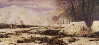 Shipka Sheinovo Skobelev under Shipkov 1883 1888 | Vasily Vereshchagin | oil painting