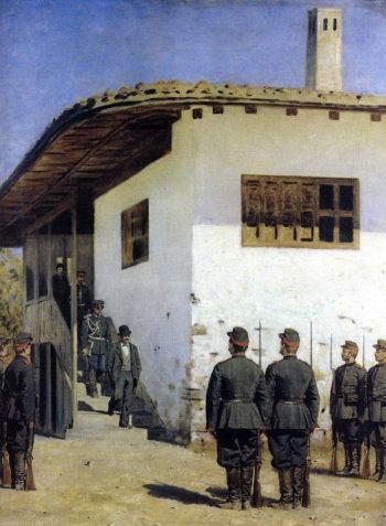 Spy 1878 1879 | Vasily Vereshchagin | oil painting