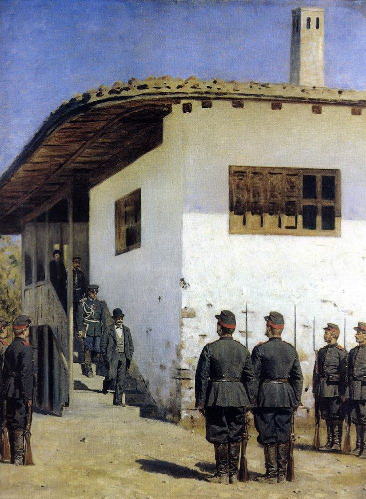 Spy 1878 1879   Vasily Vereshchagin   oil painting