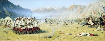 surprise 1871 | Vasily Vereshchagin | oil painting