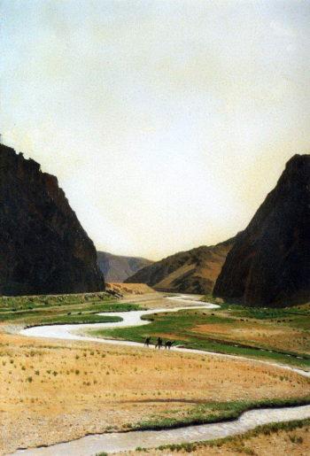 Tamerlanovy gate 1869 1871 | Vasily Vereshchagin | oil painting